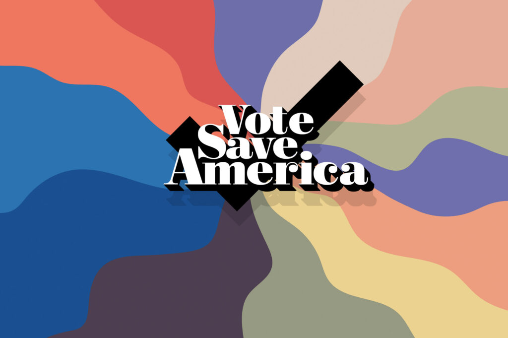 Be a Voter. Save America.   Crooked Media